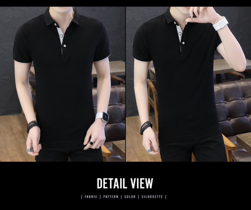 SD Polo Shirts Men 2018 New Arrivals Casual Male Polo Shirts Breathable Cotton Tops High Quality Solid camisa Polos Homme 413 20