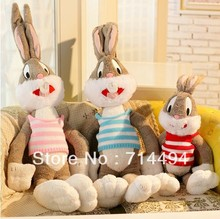 100cm Cartoon Selling Item Plush Bugs Bunny Stuffed Animal Kawaii Doll For Kids Soft Pillow For Girls Funning Toy Free Shipping
