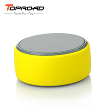 Toproad Mini Speaker Portable Bluetooth Speaker Handsfree Wireless Boombox Audio Player Stereo Speaker with Mic Support TF Card(China)