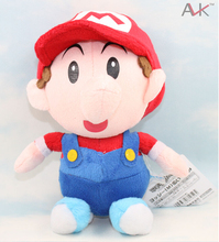 Free Shipping Super Mario Anime Games 22cm Mary BB Combination Plush Toy Plush Doll(China)