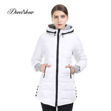 New Warm Winter Jacket Women Hooded Cotton-Padded Parka Cotton Coat Plus Size Wadded Down Jacket Basic Coat Casacos Feminino(China)