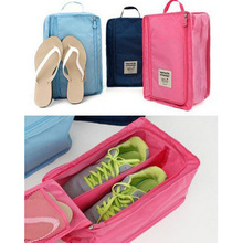 Donbook Free Shipping 4 colors Portable Shoes Travel Organizer Storage Bag Luggage Carrier Pouch Holder Nylon B999