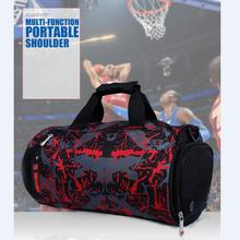 Quality 18L Sports bag made with 600D polyster the bag for basketball for football for fitness gym and yoga can pack many stuff(China)