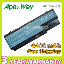 Apexway 6 Cells 4400mAh 11.1v Battery For Acer Aspire 5520 5710 5920 5920G 6920 6930 7520 7720 8730 8920 8920G(China)