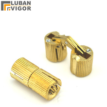 High quality cross hinge,Invisible door folding door hinge, Copper pillar hinge,furniture hardware