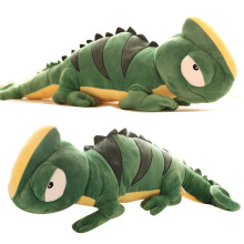 High Quality Large Cute 1M Personality Big Lizard Green Chameleon Doll Plush Toy Doll Pillow Doll Large Birthday Gift