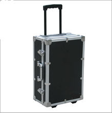 custom Aluminum alloy tool case with trolley and wheels Aluminum equipment case we can custom any size for you