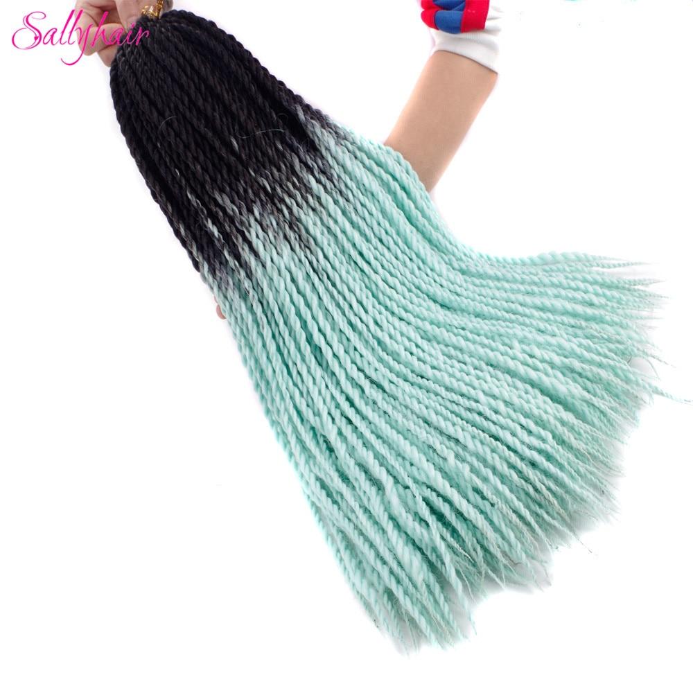 Ombre Color Senegal Twist Braids Crochet Braids Hair Extensions (61)_