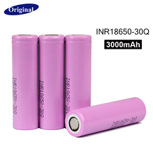 100% original New Samsung INR 18650 battery 3.7V 3000mAh INR18650-30Q li-ion Rechargeable Batteries - Shop2133078 Store store