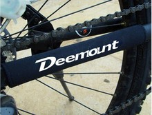 Deemount Bike Guard Cover Pad Bicycle Cycling Chain Care Stay Posted Protector Bicicleta Frame Protector Guard 4PCS