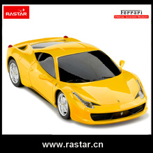 Rastar licensed 1:24 Ferrari 458 Italia best made in China Christmas gift car toys with remote controller rc car 46600