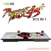 New Pandora box 4S+ 815 in 1 arcade control kit joystick usb buttons zero delay arcade console controller children game machine