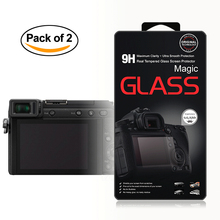 2x Self-Adhesive 0.3mm Glass LCD Screen Protector for Panasonic Lumix DMC GX85 / GX80 / GX7 II / G8 Digital Camera