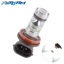 H8 H11 LED Bulbs Super Bright Fog Lights DRL Driving Tail Lamp Car Light Source parking 1250LM 12V - 24V auto 6000K White