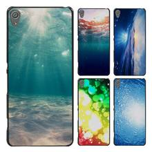 Dreamy Underwater Bubbles Sun Light Style Case Cover for Sony Ericsson Xperia X XZ XA XA1 M4 Aqua E4 E5 C4 C5 Z1 Z2 Z3 Z4 Z5(China)