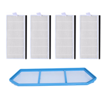 Original 1* Primary filter +4* Efficient Hepa Filter ilife a4/X432/X430/T4/x431 ilife a4s robot vacuum cleaner parts filters