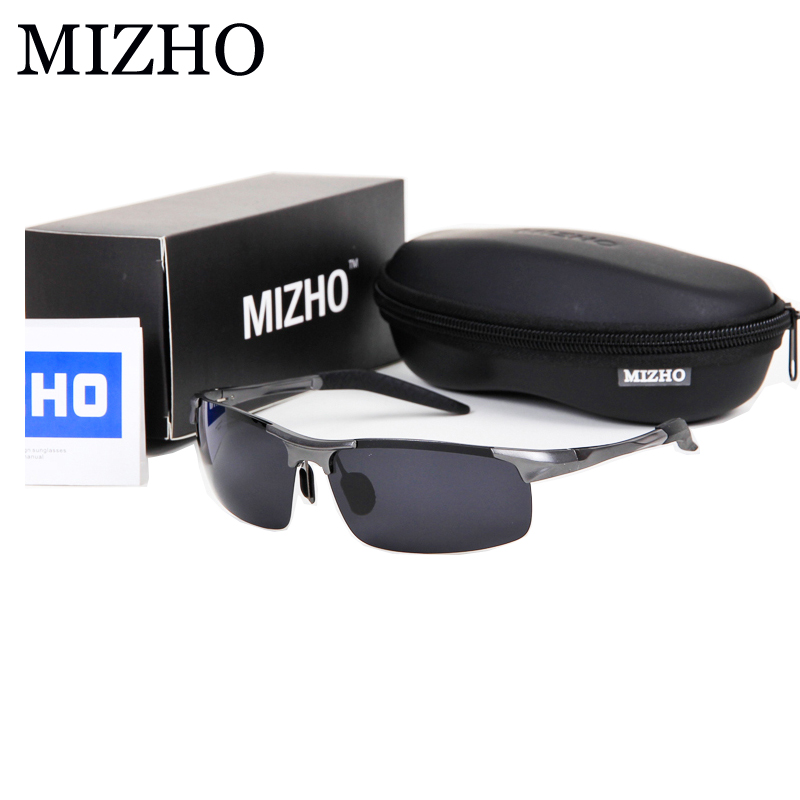 MIZHO 4 COLOR Day Use Enhance Antireflection Security To Protect Eyesight BLACK Polaroid Sunglasses Mens Polarized Driving<br><br>Aliexpress
