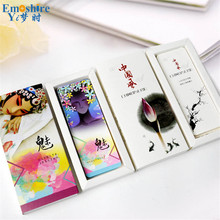 Bookmarks Creative Cute Cartoon Retro Chinese Bookmark Stationery Gift Diy Card Paper Bookmarks M007