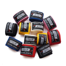 2 Rolls length 5M Width 5cm Sports Bandage GYM Cotton Strap Boxing Bracers Hand Support Hand Wraps Wristband Guard