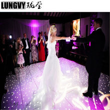 new products on china market 120cm*60cm remote control led dance floor led starlit dance floors