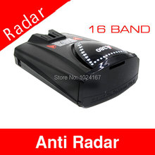Car Anti speed Radar Detector English or Russia Option A380 with mounting bracket Free Shipping(China)