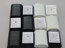 50 pcs black white color Battery Pack Cover Shell Case Replacement for Xbox 360 Wireless Controller battery cover color