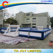 Free shipping! 15*10*2mH street soccer inflatable field,inflatable sports arena,inflatable football court