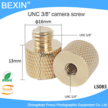 "5pcs 3/8"" Copper Conversion Camera Screw for Mini Tripod Monopod Three Legs Support(China)"