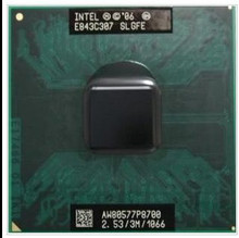 lntel Core 2 Duo Mobile  P8700 Dual Core 2.53GHz 3M 1066MHz Socket 478 CPU Processor(working 100% Free Shipping)