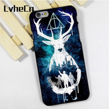 LvheCn phone case cover fit for iPhone 4 4s 5 5s 5c SE 6 6s 7 8 plus X ipod touch 4 5 6 back Always Deathly Hallows Harry Potter(China)