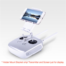Phone Tablet  Screen Holder Mount Bracket For Phantom/Inspire/Flysky I6S FPV Quadcopter