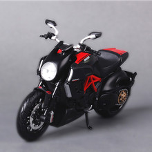 Freeshipping Maisto Ducati Diavel 1:12 Motorcycles Diecast Metal Sport Bike Model Toy New in Box For Kids(China)