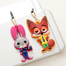 Cute Cat Earphone Cat Anti Dust Plug Cell Phone Jack Plug 3.5mm Jack Plug Stopper Cap For iPhone Cell Phone Cover Case