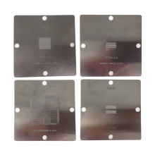 BGA reballing stencils 80x80mm solder ball steel template for PS4 BGA IC reball station(China)
