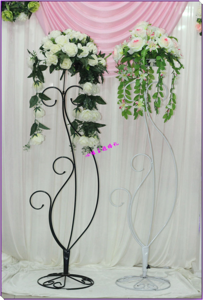 Flower Stands For Weddings flower stand for church aisleflower