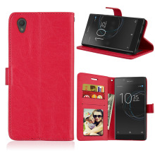 Buy Flip Cases Sony Xperia L1 Sony L1 G3311 G3312 G3313 Sony Xperia E6 Covers Card holder Phone Bag for $3.68 in AliExpress store