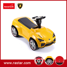 Rastar Licensed ride on car toy four wheels Urus concept foot to floor car with horn and chassis 83600