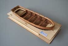 LOVE MODEL Free shipping Scale 1/48 Hi-Q solid wood lifeboat model kits The whole Boat ribs 30ft Launch lifeboat model(China)