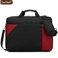 Cool bell 15.6 inch Notebook Computer Laptop Bags for Men Women Case Briefcase Shoulder Messenger Bag D045