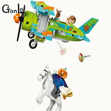 (GonLeI) Scooby-Doo 10429 Mummy Museum Stery Building Block Model Kits Scooby Doo Dog Blocks Toys(China)
