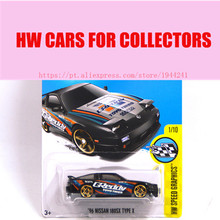 Hot Sale 2016 New Hot Wheels 1:64 96 nissan 180sx type x car Models Metal Diecast Car Collection Toys Vehicle  Juguetes