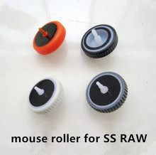 1pc original new mouse roller for OLD EDITION Steelseries mouse Sensei RAW frostblue/heat orange