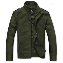 2014 New Men's Jacket Slim Fit Casual Zipper Design Jackets Coat 3 Colors M-XXXL Plus Size Dropshipping 36