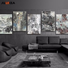Classic Vintage Chinese Ink Art Black White Painting Prints On Canvas Poster Wall Picture For Living Room Home Decor No Frame
