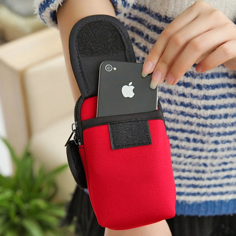 Sport Running Arm bag Band Phone Case For iPhone 7 6 6S Plus 5S For Millet S8 S7 S6 Edge Plus Note 5 Jogging Package Pouch04