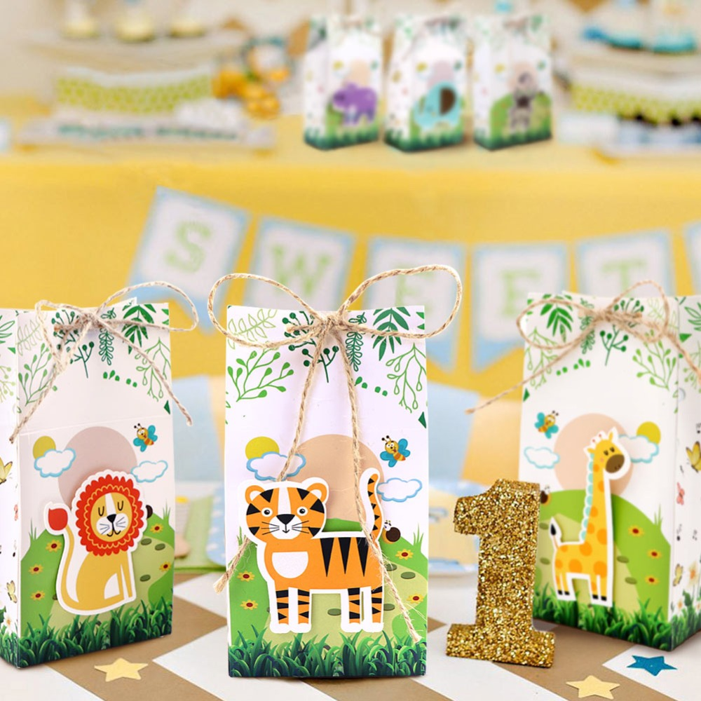 Zoo Animal favor boxes (16)