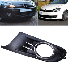 POSSBAY 1pcs Left Side Car Front Bumper Lower Grille Fog Light Grills Cover For VW Golf MK6 2010-2014 Car Replacement(China)