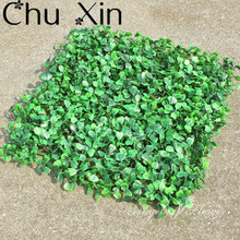 40*60 High Quality Artificial Long Grass Lawn Green Plant Setting Wall For Home Company Building Wall Decoration