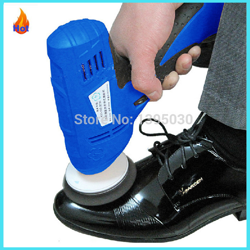 280W Household shoe polisher Portable Hand-held Leather Polishing Equipment Automatic Mini shoe Cleaning Machine shoes cleaner <br>