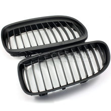 2pcs/set ABS Front Matte BlackKidney Grille Racing Grill for BMW E90 LCI 3-Series Sedan 4 Door 2008 2009 2010 2011